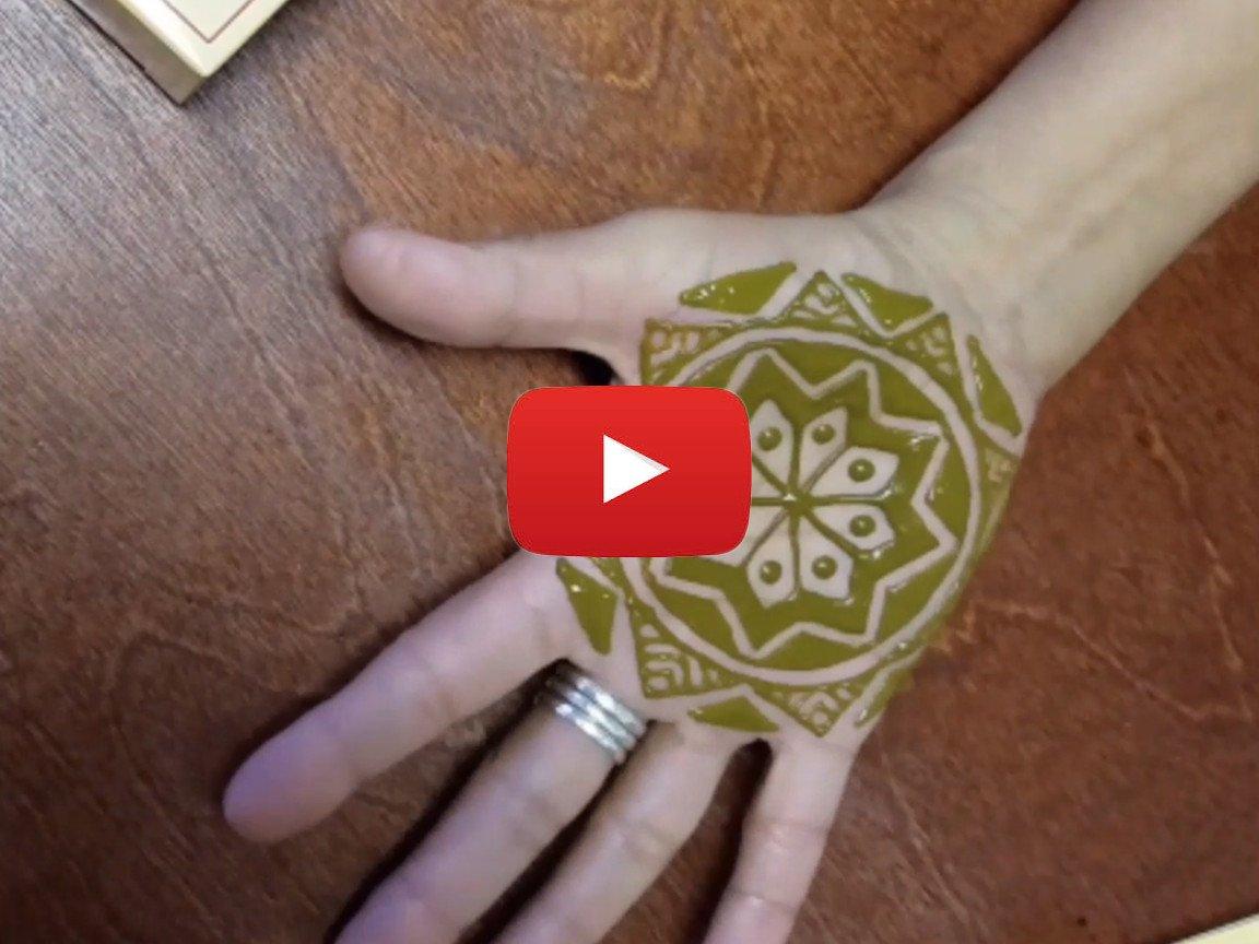 Henna Tattoo Kit Walmart : Earth henna mehndi & black jagua temporary tattoos body art kits