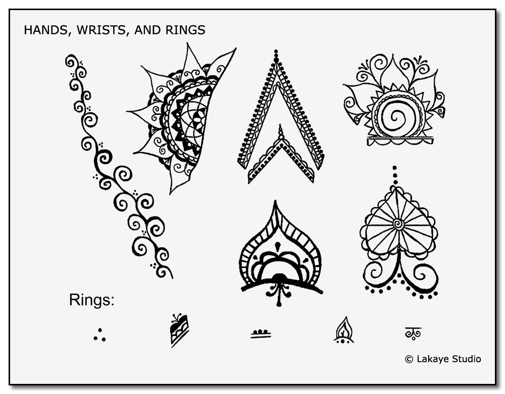picture regarding Free Tattoo Stencils Printable named Obtain Our Cost-free Non permanent Tattoo Stencils