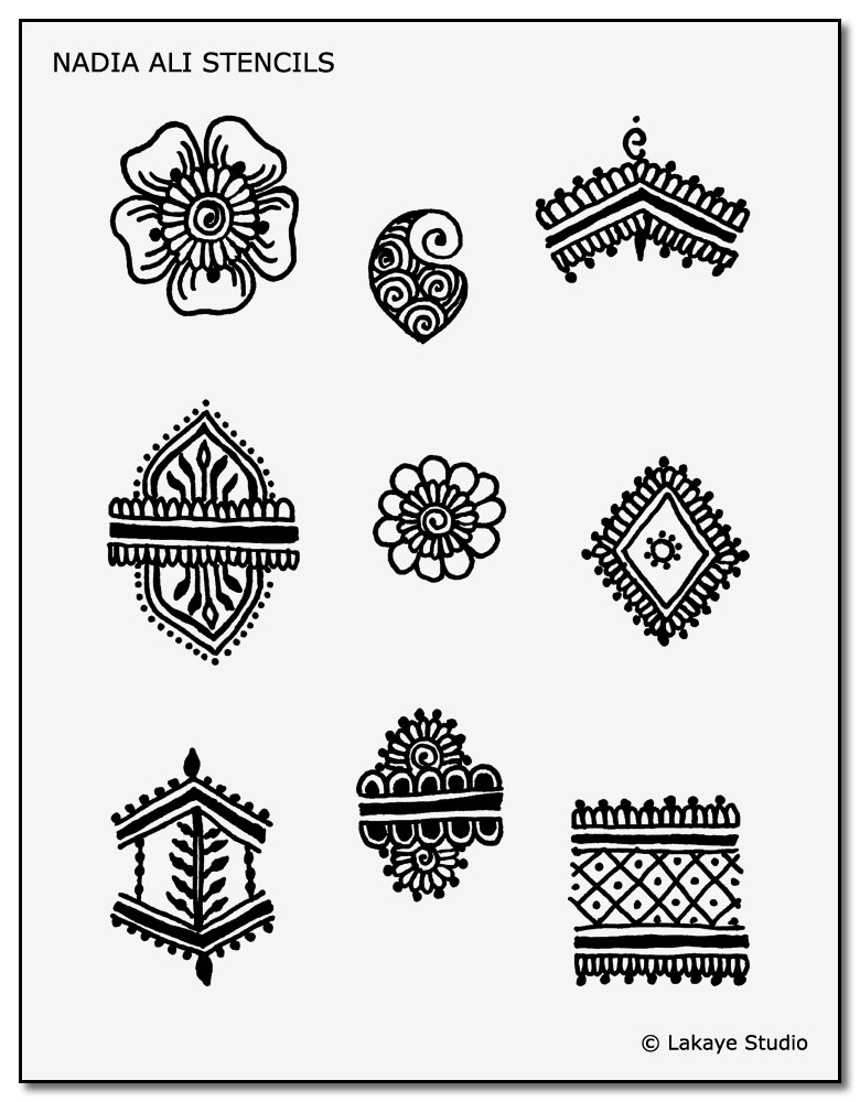 image about Free Tattoo Stencils Printable named Down load Our Totally free Short term Tattoo Stencils