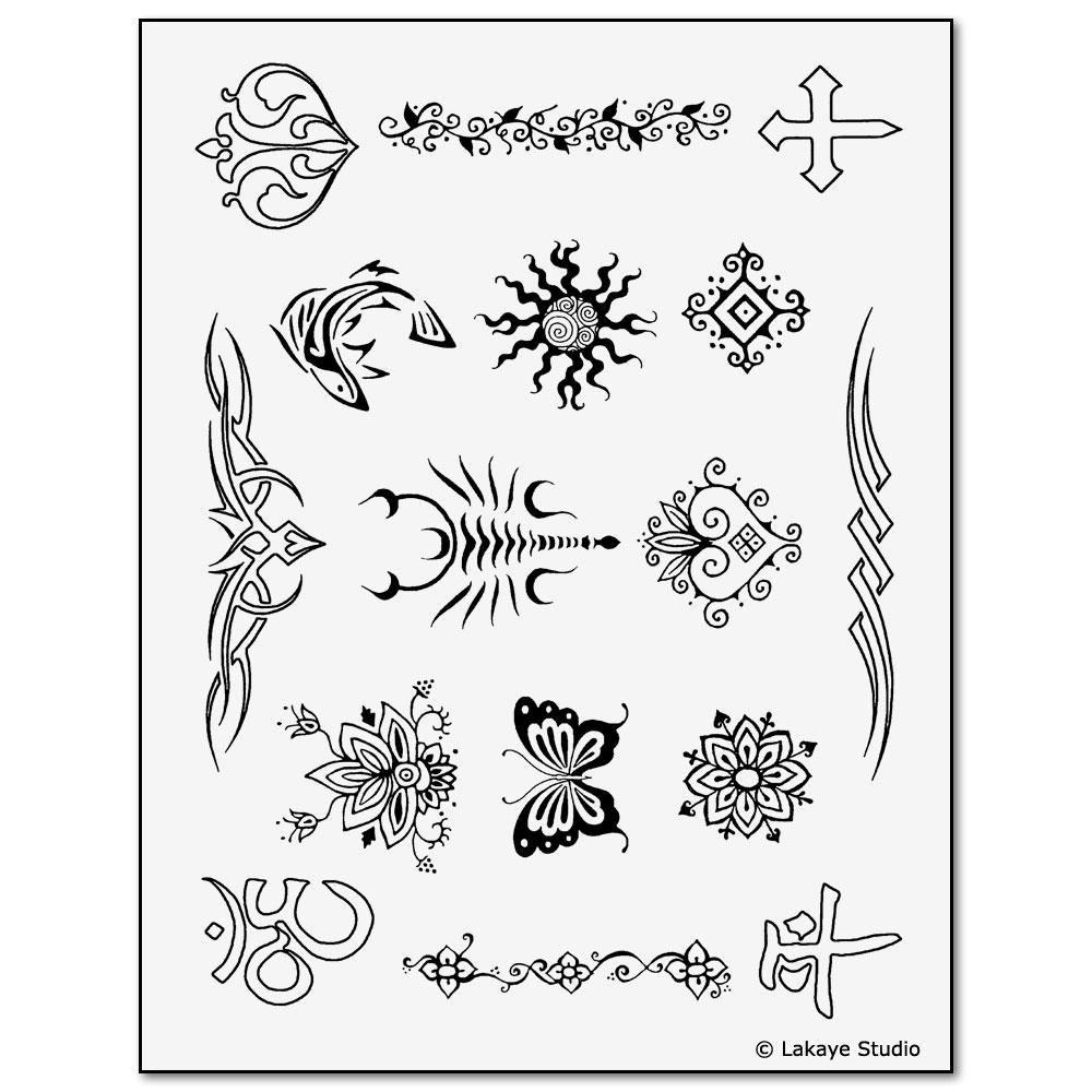 earth henna classic kit yellow temporary tattoos mehndi. Black Bedroom Furniture Sets. Home Design Ideas