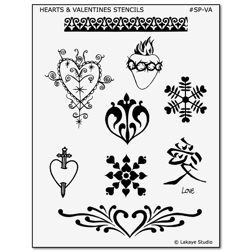 Hearts & Valentines Tattoo Designs